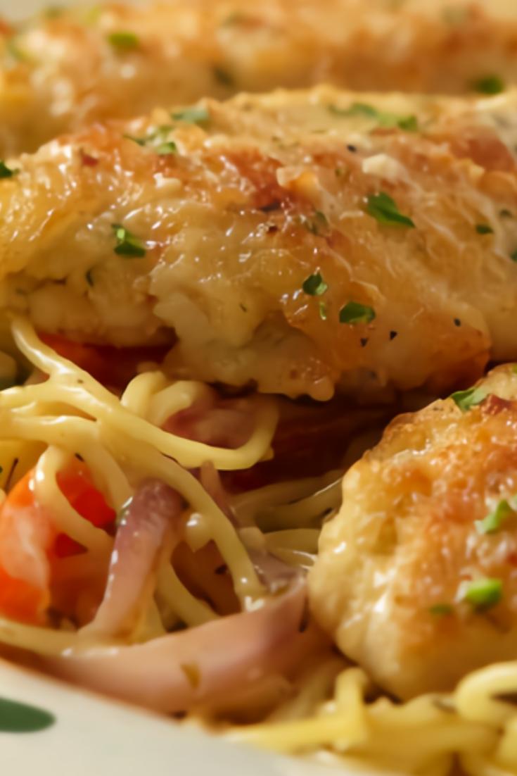 Italian Chicken Scampi Recipe