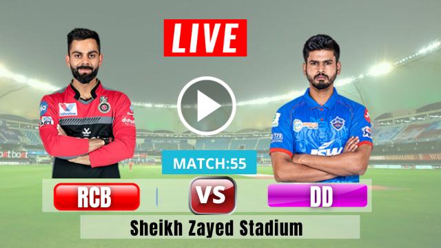 Delhi vs Bangalore, 55th Match