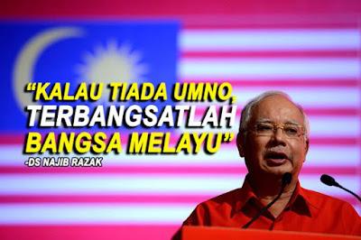 Image result for kalau UMNO kalah habislah Melayu