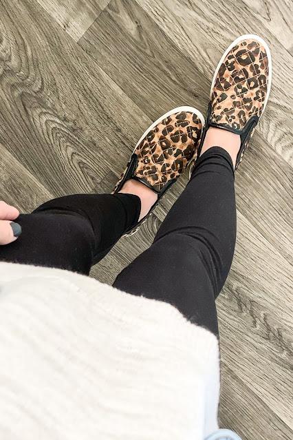 Favorite leopard slip on sneakers #leopardshoes