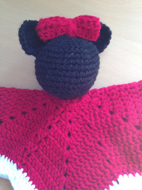 Minnie Mouse Lovey Blanket