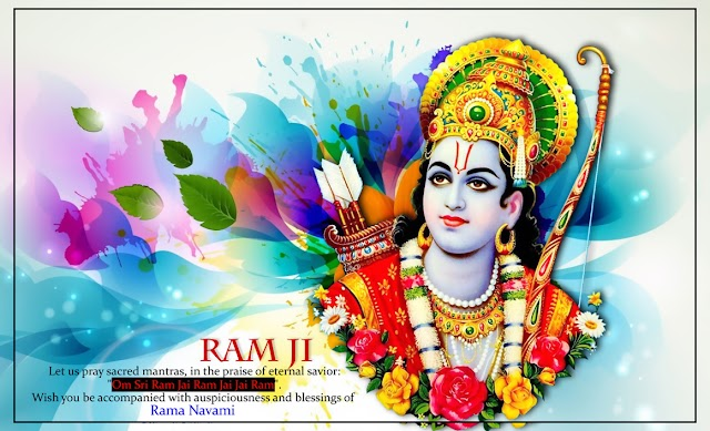 Sri Ram Jai Ram Jai Jai Ram! Wish you a very auspicious and blessed Ram Navami!