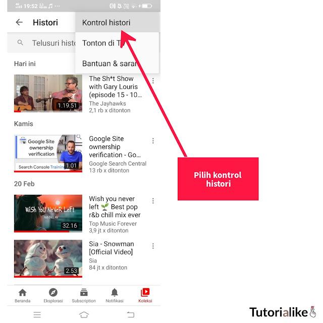 kontrol-histori-video-youtube