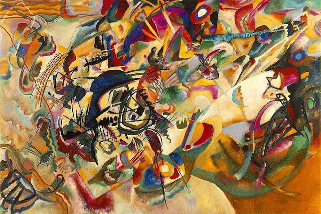Wassily Kandinsky's Composition VII, 1913. Image credit: Wikimedia Commons