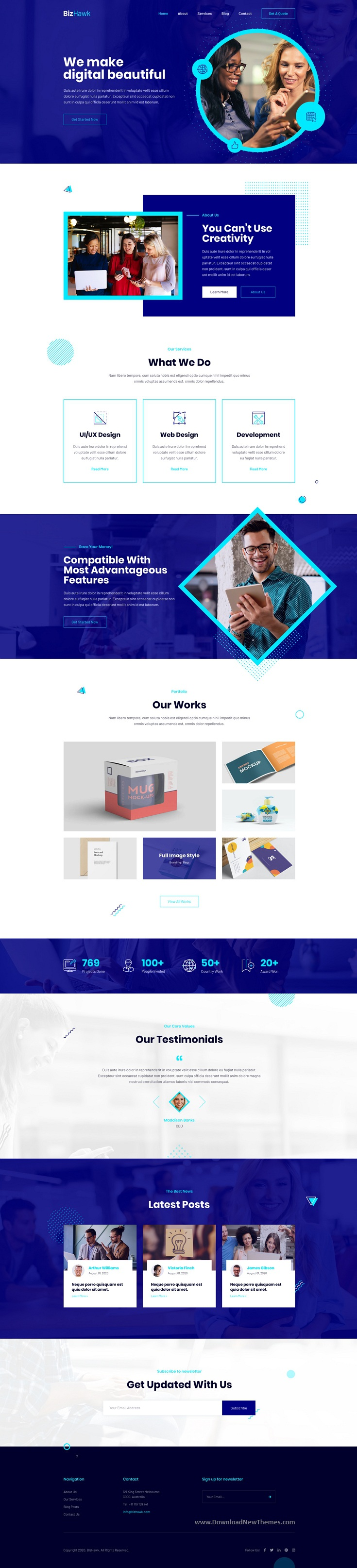 Corporate Agency Template