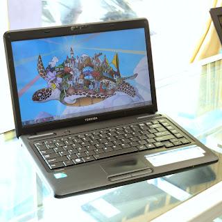 Jual Toshiba Satellite C600 ( 14-Inchi ) di Malang