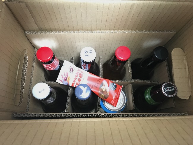 Beer52-craft-beer-subscription-box-review-image-of-content-of-box