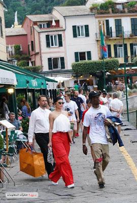 صور كايلي جينر تتجول فى شوارع ايطاليا بأطلالة جديدة