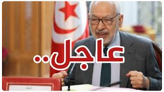 راشد الغنوشي يصدر بلاغ عاجل شديد لهجة... بخصوص  جريمة تدمير عمارة الجلاء بقطاع غزة