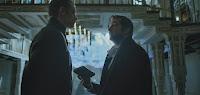 Joel Kinnaman and James Purefoy in Altered Carbon Series