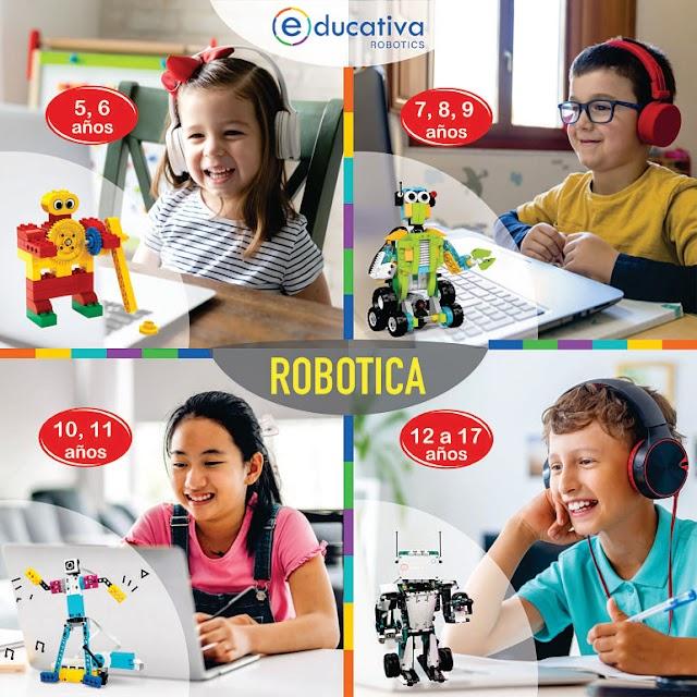 ▷ ROBOTICA para ESCOLARES de 5 a 17 años   Programa 2021
