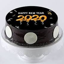 New Year time bakery eatable item