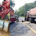 Acidente entre carreta e caminhão deixa uma pessoa morta em São José das Missões