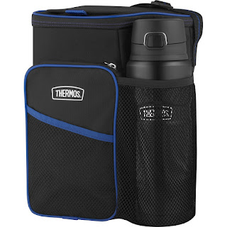 THERMOS Lunch Cooler and STAINLESS KING Direct Drink Bottle Combination Set