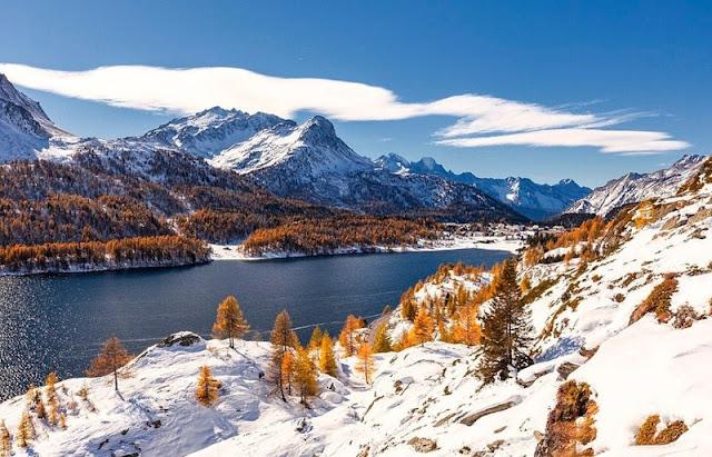 Ngắm vẻ đẹp dãy núi Alps dài nhất Châu Âu 1