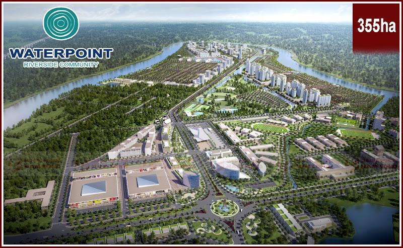 Tổng thể khu đô thị sinh thái Waterpoint