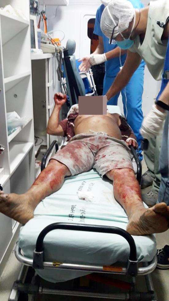 Populares espancam homem suspeito de estuprar criança na praia do Farol