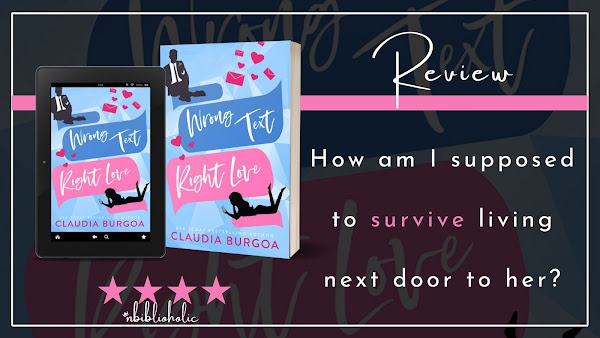 Wrong Text, Right Love by Claudia Burgoa review image