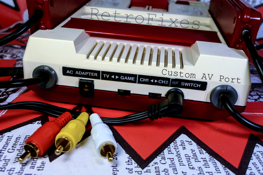 Connect A Famicom To American Televisions Retrofixes