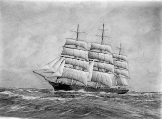 قصة السفينة الغارقة والكوخ المحترق