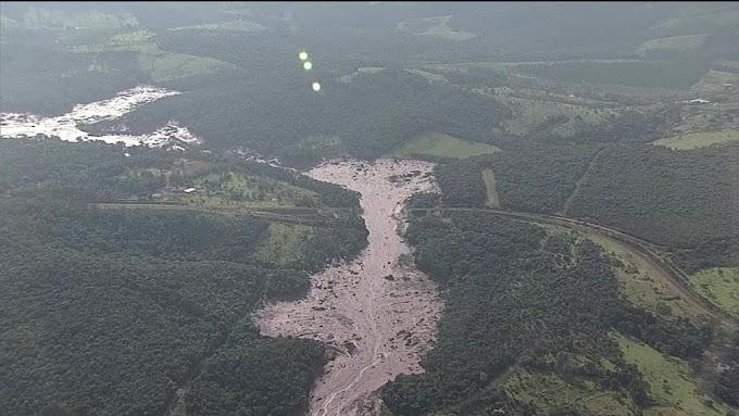 MINAS GERAIS: Hidrelétrica de Furnas tem funcionamento interrompido por lama de barragem da Vale.