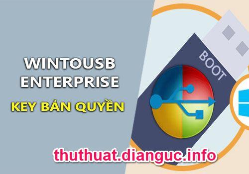 Download WinToUSB Enterprise 4.1 Release 1 Full Cr@ck – Sao chép, cài đặt lại windows
