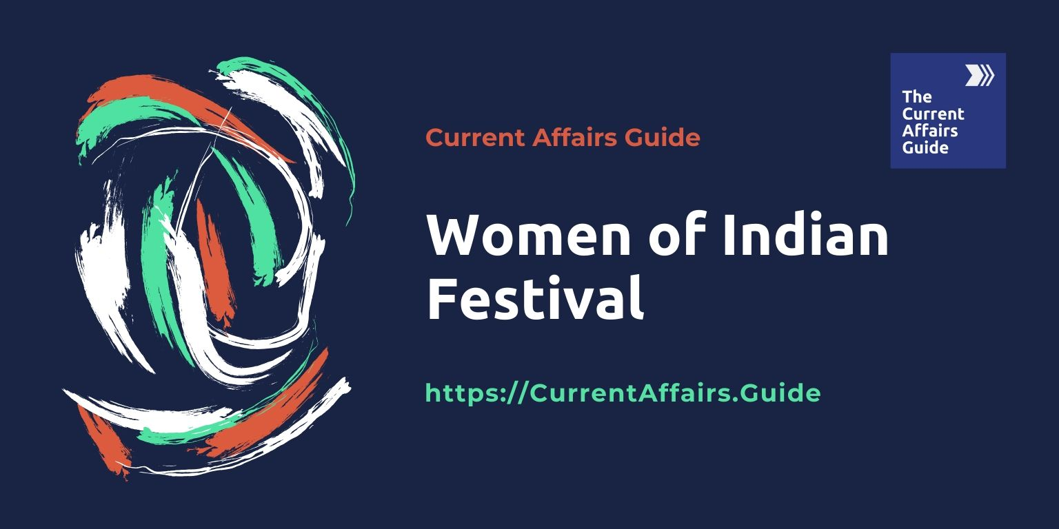 Women of Indian Festival