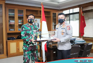 Sinergisitas TNI-Polri Mantapkan Program Transformasi Pengawasan