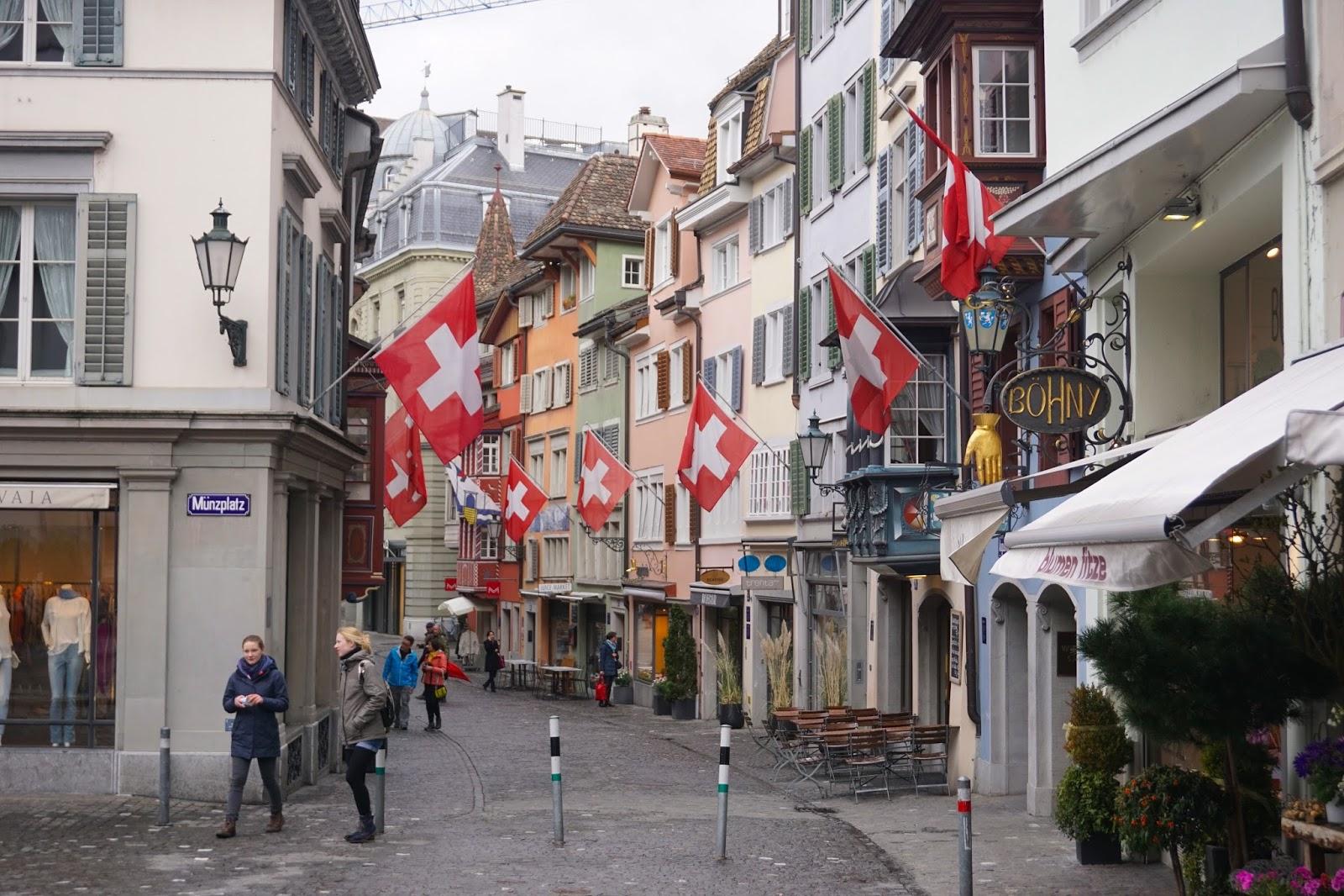 Zurich Munzplatz