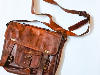 Bag,sling bag,travel,leather,udaipur, brown bag