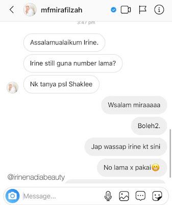 Pelakon Paling Popular Mira Filzah Beli Produk Shaklee