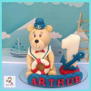 Topo urso marinheiro