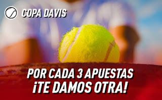sportium promo Copa Davis 18-24 noviembre 2019