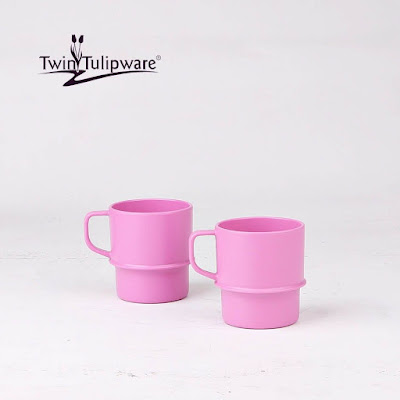 Mug (2) Twin Tulipware