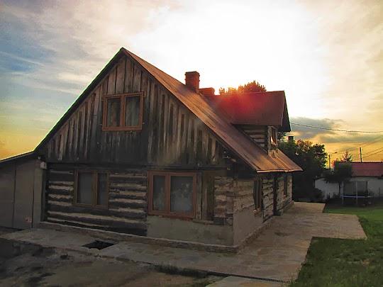 Stary dom góralski w Koniakowie.