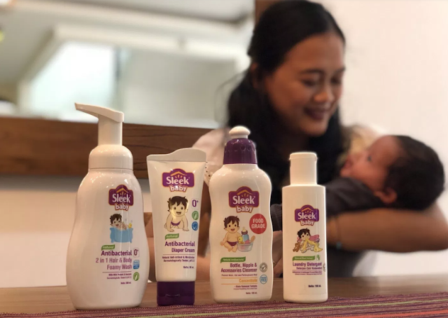 Cara Aman Memandikan Bayi Prematur dengan Sabun Sleek Baby