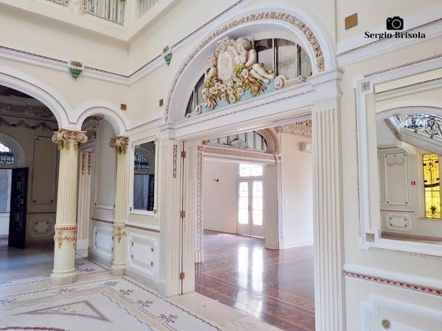 Palacete Basílio Jafet (Hall central - detalhes)