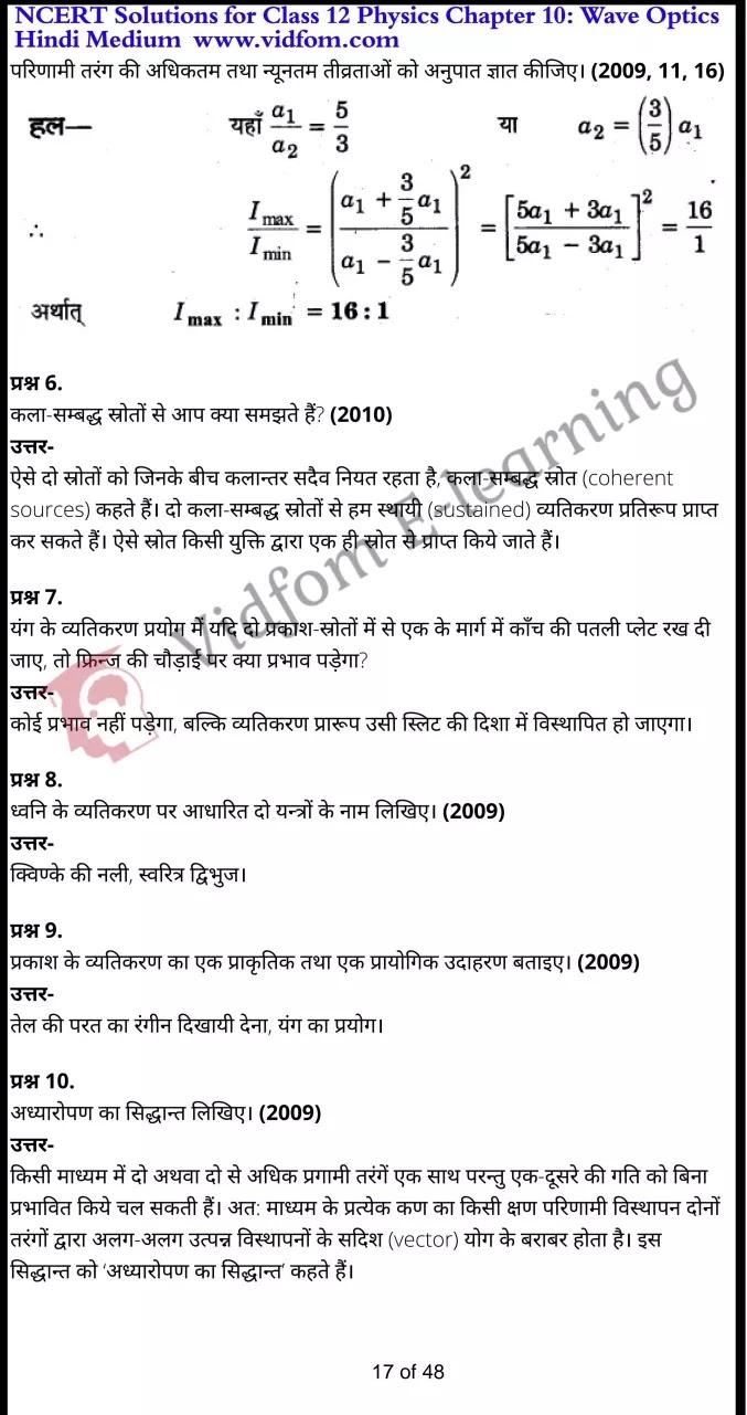 class 12 physics chapter 10 light hindi medium 17