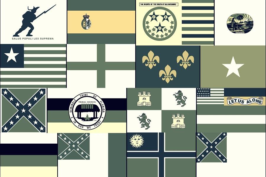 Banderas que han ondeado ayer y hoy en el Sunshine State
