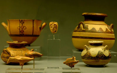 Μycenaean finds from Aiani and upper Macedonia