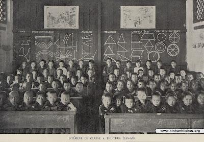 Trường học xưa thời Pháp thuộc ở Nam Kỳ