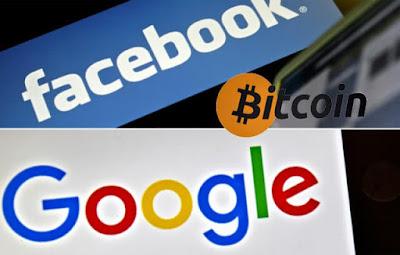 """شركة-جوجل-توجه-ضربة-قوية-لعملة-الرقمية-""""بتكوين""""-على-خطى-فيس-بوك"""