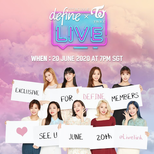 Twice Acuvue Live Event