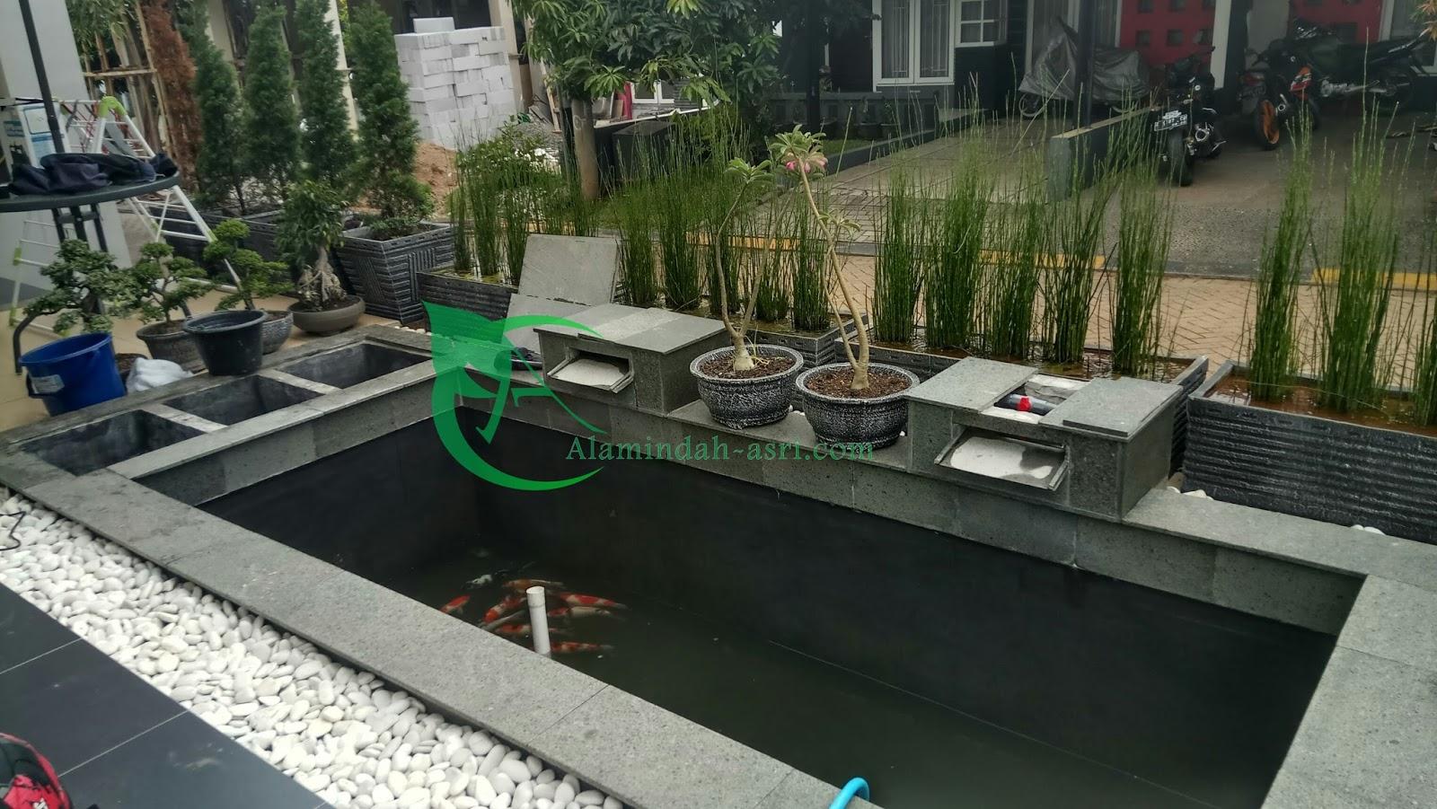 Harga Kolam Koi 2017 2018 Cara Hitung Budget Pembuatan Kolam Koi