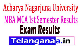 MBA MCA 1st Semester Results