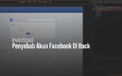 Investigasi Penyebab Akun Facebook Diambil Alih