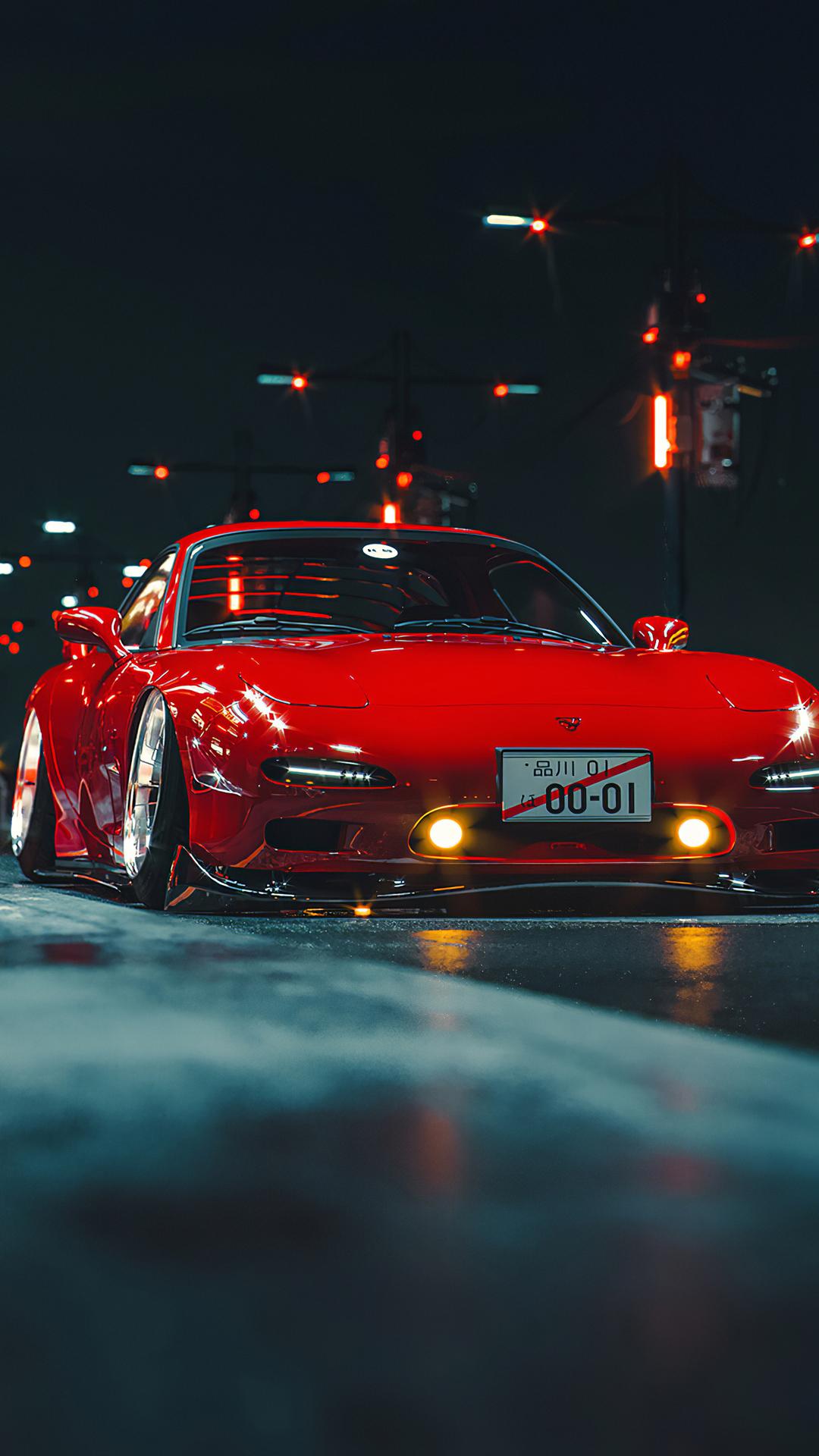 Mazda Rx7 Sports Car Wallpaper