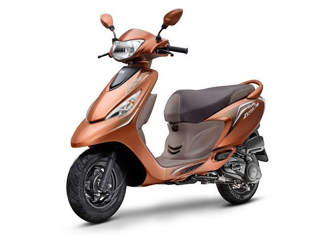 TVS Scooty Zest Himalayan Highs Special Edition