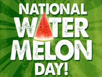 national watermelon day logo