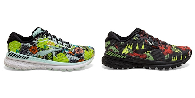 BROOKS Tropical Collection, Brooks, Levitate 3, Adrenaline GTS 20, Revel 3, Fitness, Running Shoes